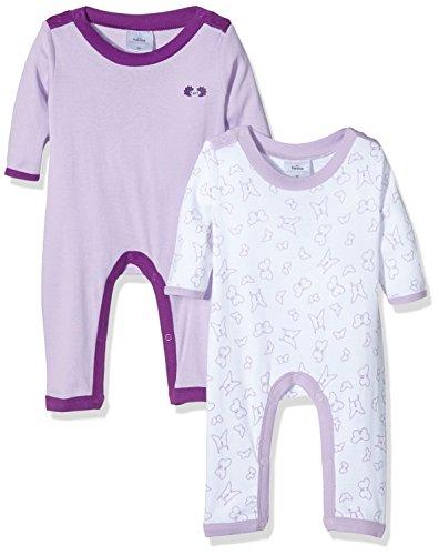 Twins 1 325 71-Pijama Bebé unisex Violett Lila 4004