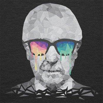 NERDO - Poly Psychedelic Albert - Damen T-Shirt Schwarz
