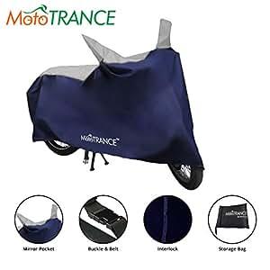 Mototrance Sporty Bike Body Cover For Honda Activa 3G,Blue