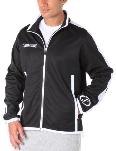 Spalding Bekleidung Teamsport Evolution Jacket schwarz/weiß, XS