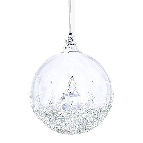 Ornamento swarovski sfera di natale 2017