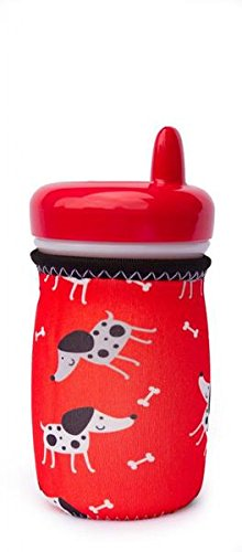Kidzikoo-# 1Neopren Baby Flasche/Trinkbecher Isolator Kühler Coozie-Welpen -
