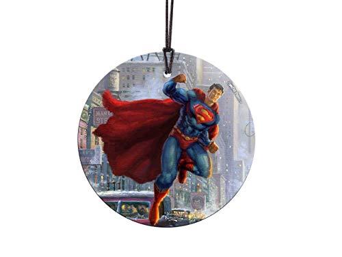 Comic Stil Joker Kostüm - Trend Setters DC Comics - Superman - Thomas Kinkade Studios - Starfire Prints Glas Sonnenfänger zum Aufhängen