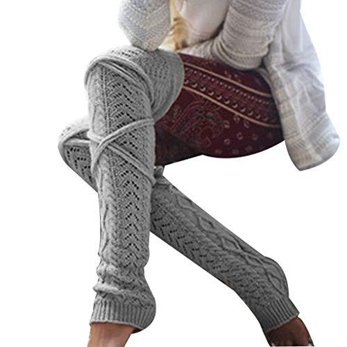 nit Toeless Mädchen-Winter-Schenkel-hohe Strümpfe Socken Stiefel Strumpf ()