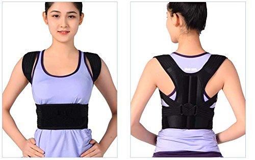 Buckel-Korrektur Mit Erwachsenen Rückenorthesen Kinder Sitzen Korrektur Mit Atmungsaktiven Haltung Gürtel Männer Und Frauen,M