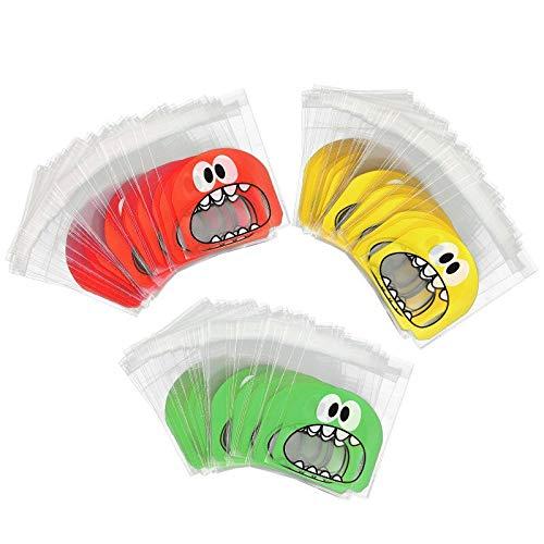 en / Candy Bags Selbstklebende Cellophan Geschenk Taschen (Big mouth) ()