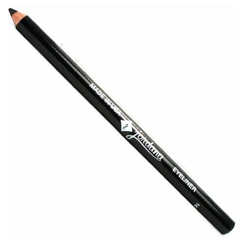 JORDANA 5 Inch Eyeliner Pencil Black