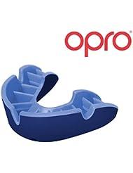Opro Silver Protège-dents Self Coupe Gum Shield pour hockey, rugby, MMA, boxe, football américain, Basketball–Opro Bouche gardes sont conçus et fabriqués au Royaume-Uni