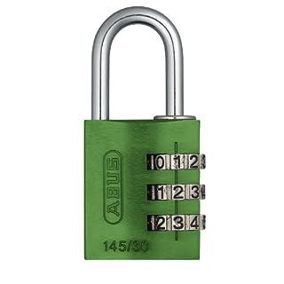 ABUS 145/30 Combination Padlock - Green