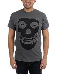 Misfits - Die - Tonal Fiend Schädel-Erwachsen-T-Shirt In Schwarz