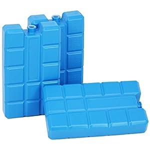 com-four® Kühlakkus – Kühlelemente für die Kühltasche – Kühlakku für Haushalt und Freizeit