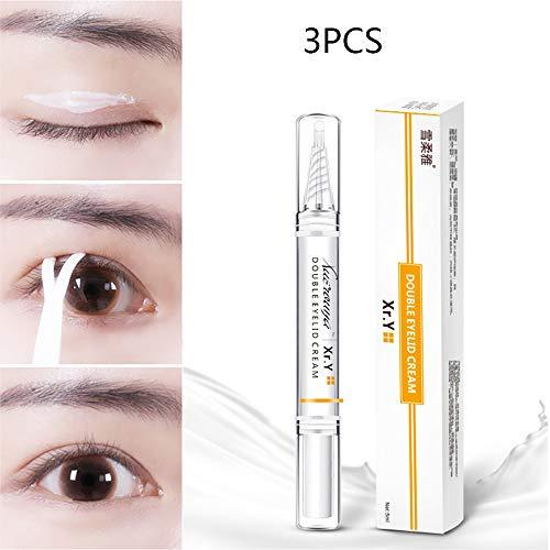 Lz Double Eyelid Shaping-Cream, Großes Auge Nicht Kleben Transparentes Augenlid Super Stretch Falten Heben Augen Styling Shaping Tools