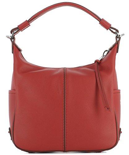 tods-womens-xbwmkye0200mtir401-red-leather-shoulder-bag