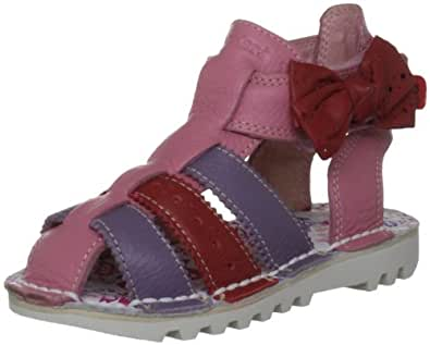 Kickers Kgladbow Lthr Pink Casual Sandal 112089 6 Uk Toddler
