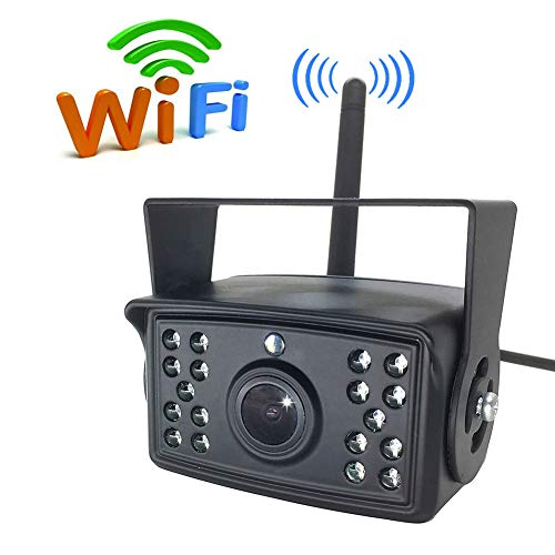 WiFi Rückansicht Backup-Kamera, Für Bus Caravan LKW Anhänger Auto, Unterstützung iPhone Android-Geräte Monito Dropship 10.5