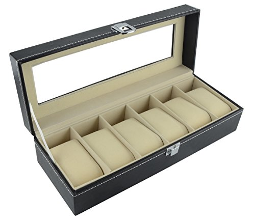 NO.1 WATCH WINDER BEST BUY REVIEW DOUBLEBLACK WATCH BOX FOR 6 WATCHES REVIEW
