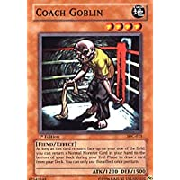 Yu-Gi-Oh! - Coach Goblin (IOC-015) - Invasion of Chaos - 1st Edition - Common