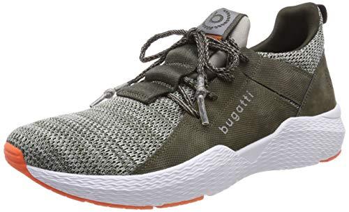 bugatti Herren 341730616959 Slip On Sneaker, Grün, 42 EU