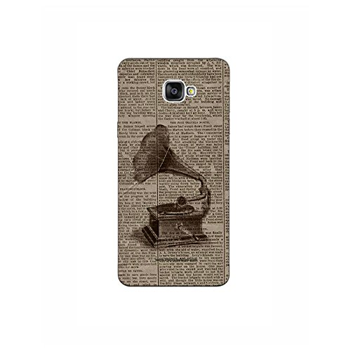 Old Gramophone Galaxy J7 Prime Mobile Case By The Souled Store