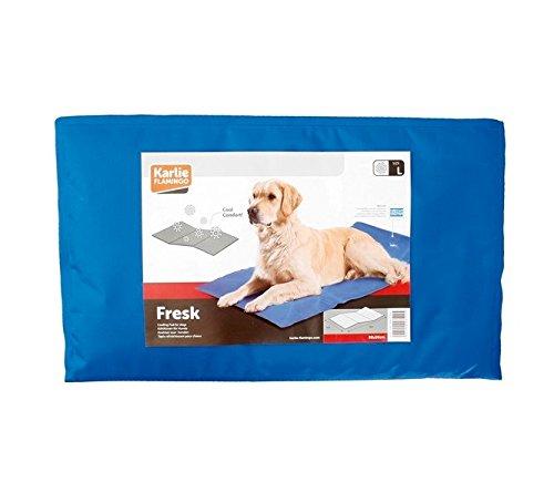 Hunde Kühlmatte Kühlkissen Blau Liegematte Hundematte Matte Hunde Matratze Kühldecke Blau -Kühlung ohne Kühlschrank- - 4