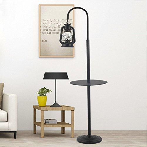 GUOPENGFEI Stehleuchte Laterne Kerosin Lampe Stehleuchte Lounge Retro Schmiedeeisen Tisch Kreative Stehleuchte