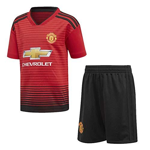2018-2019 (Heim & Auswärts) Soccer Jersey Personalisierte Namen und Nummern, benutzerdefinierte T-Shirt Fußball Kits für Jugend Erwachsene Jungen - Auswärts Manchester United
