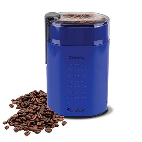 200 Watt Retro Kaffeemühle, 100g Fassungsvermögen, inkl. Reinigungspinsel, Zerkleinerer Universal Mühle