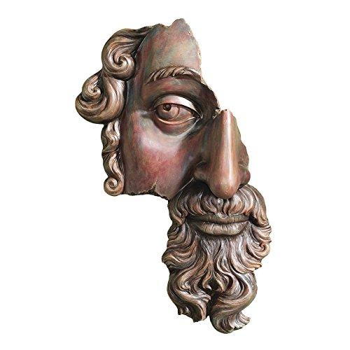 Design Toscano Ein klassisches Fragment (17. Jahrhundert), Wandfigur