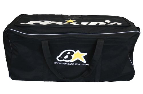 Brians Star Torwart Wheel Bag [Senior], schwarz