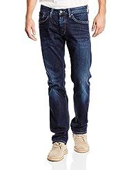 Pepe Jeans Cash Hombre Regular Fit Slim leg azul
