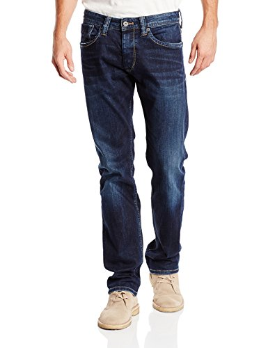 Pepe Jeans London Cash, Vaqueros para Hombre, Azul (11Oz Streaky Stretch Dk Z45), W28/L30