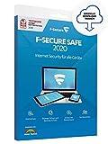 F-Secure SAFE 2019 - Internet Security für PCs, Macs, Smartphones und Tablets Mit F-Secure SAFE können Sie die Online-Welt sorglos genießen: Surfen im Internet, Online-Shopping, Videos ansehen, Musik hören, mit Familie und Freunden in Kontakt...