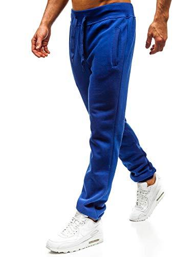 Bolf pantaloni - di tuta - sportivi - cotone - elasticizzati - da uomo stegol ak70a cobalto s [6f6]