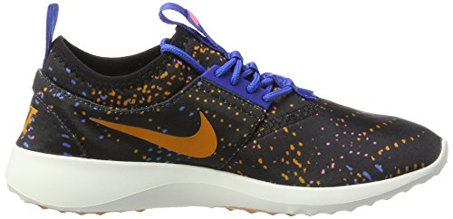 Nike 749552-004, Scarpe da Trail Running Donna Nero/Blu/Rosa
