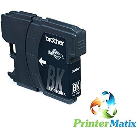 BROTHER LC1100BK NERO 790cw/795/990/5490cn/5890/6490/6890 cdw/295/490 CARTUCCE Confezione da
