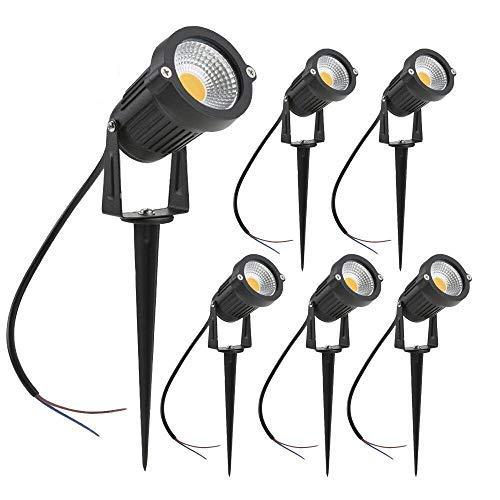 zuckeo luces de jardín LED 5W COB foco para exteriores 12V 24V...