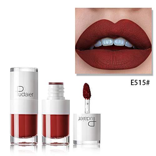 anglebiger Lippenstift, wasserdicht, matt, flüssiger Lipgloss-Lip-Liner Watopi ()