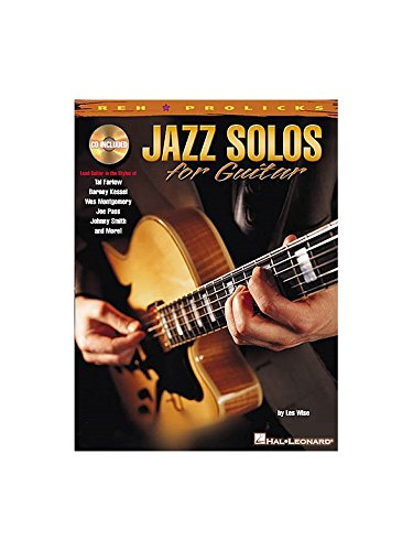 Jazz Solos For Guitar. Partitions, CD po...