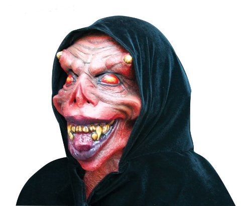 Alien Kostüm Brust - Scary Halloween Kopf & Brust Maske Datary gruselige Party Kostüm