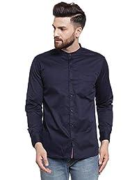 Ben Martin Men's Cotton Solid Casual Shirt-(BM-CHN-SHT)