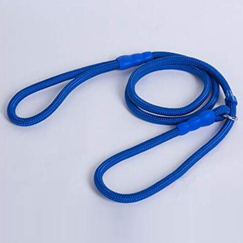 ZXPzZ Pet Dogs Leine Nylonseil Reflektierende Laufende Tracking Leinen Long Lead Dog Bergsteigen Seil Für Medium Large Big Dog (Farbe : Dark Blue, größe : XL) -