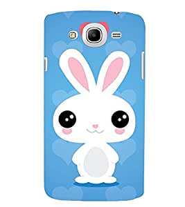 PRINTSWAG HEART WITH RABBIT Designer Back Cover Case for SAMSUNG GALAXY MEGA 5.8