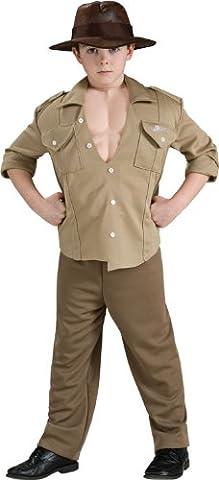 Costume d'Aventurier Indiana Jones Musclé - Enfant