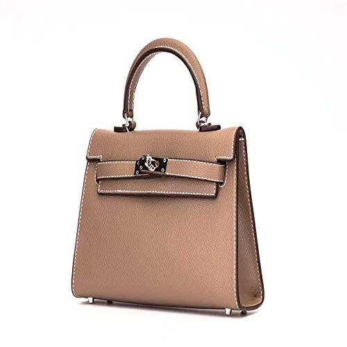 Bedoliopu Handtaschen Tasche Messenger Bag Mode Handtasche Mini Kelly Bag, G