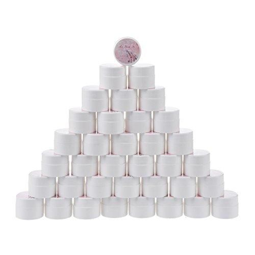 TOOGOO(R) 36 couleurs nail art gel UV couleur Gel Effet gelifie doigts a ongles de gel d'ongle de gel