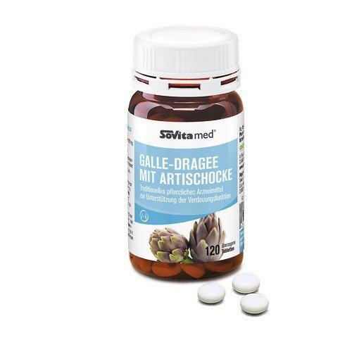 Galle-Dragee mit Artischocke | Arzneimittel | Verdauung | ascopharm | 120 Dragees