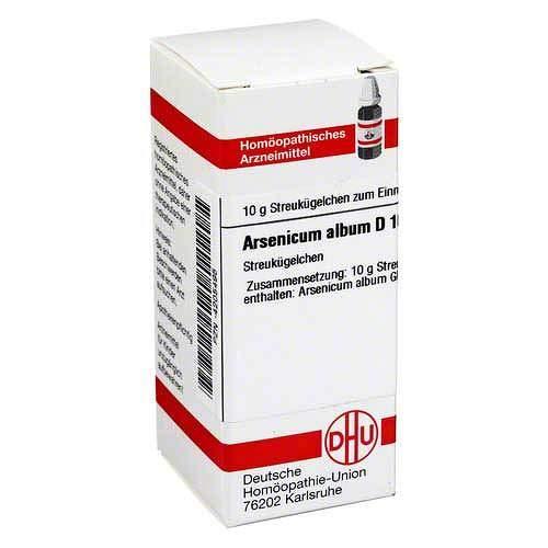 Arsenicum Album D 10 Glob 10 g -