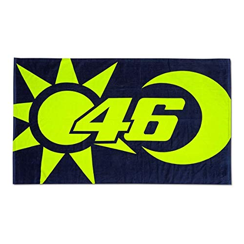 Valentino Rossi Vr46 Classic-Zubehör, Unisex Adult Strandtuch, Multicolor, 100x170 cm