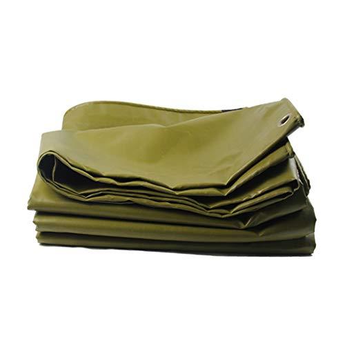 Voiles d'ombrage Imperméable à l'eau en Tissu imperméable à l'eau en Tissu Camion Toile Tissu épaisse Toile PVC Poncho Bâche Rollsnownow (Size : 5m*6m)