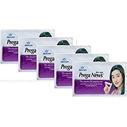 Mankind Prega News Combo Of 5 Pregnancy Test Kit (1 Tests)